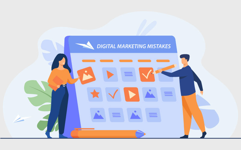 Avoid Digital Marketing Mistakes