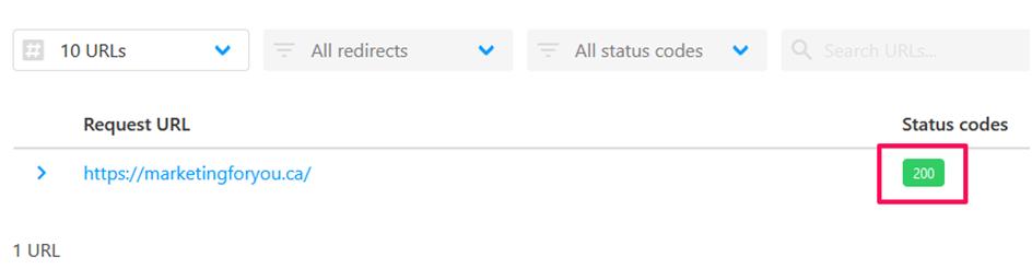 HTTP Response Code Checker